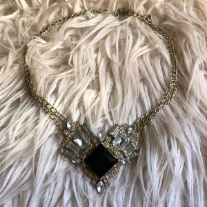 Gold necklace costume jewelry urban outfitters